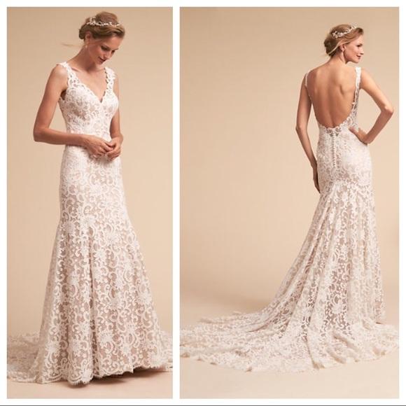 78306b527b9 Eddy K Harlow Wedding Gown   Dress - BHLDN - Ivory